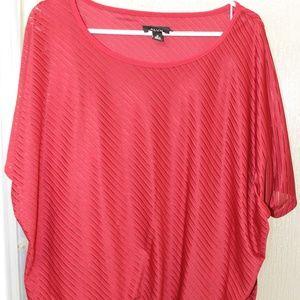 Alyx sheer over tank blouse
